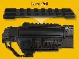Rail Picatinny weaver MIL-STD-1913 lenght 98mm horný
