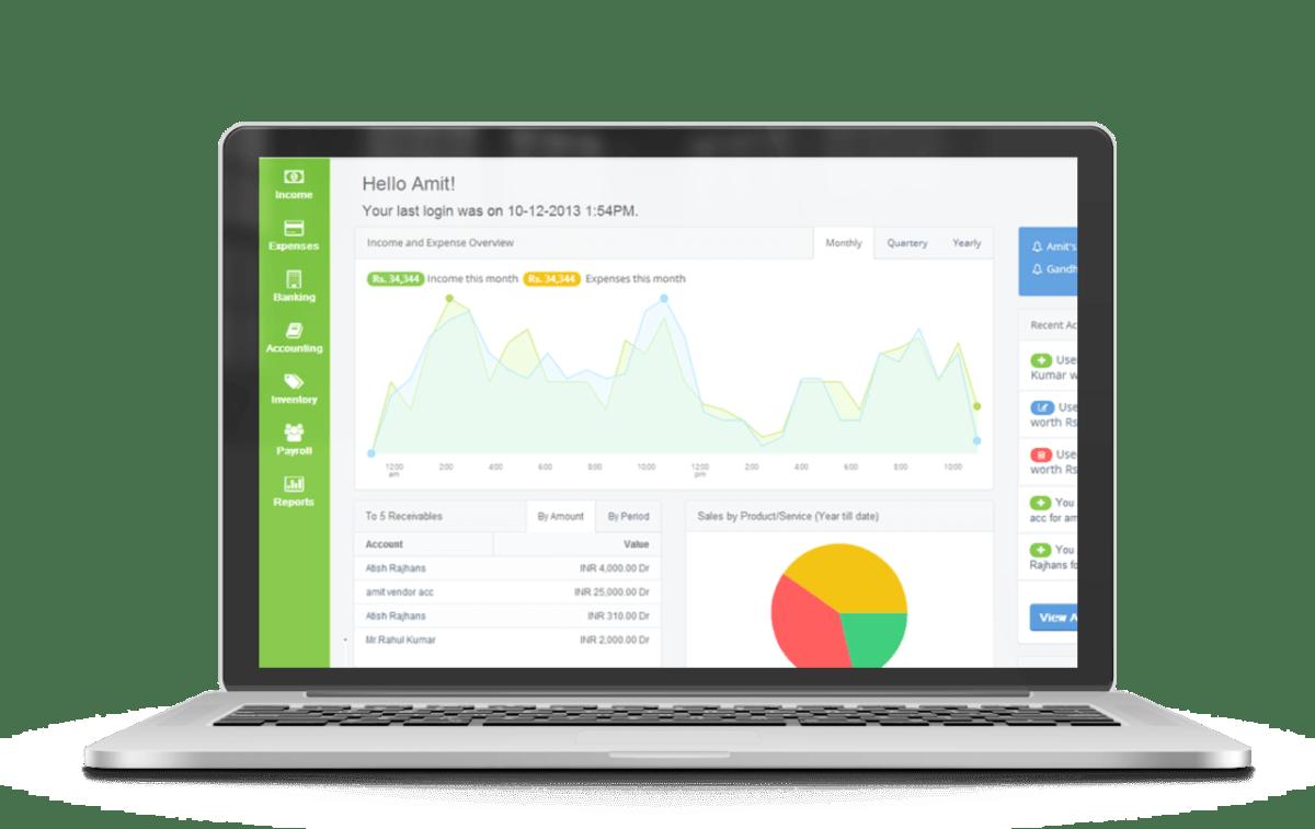 profitbooks  invoicing  accounting  u0026 inventory management