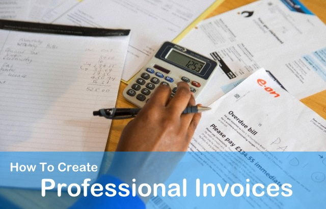 Create Professional Invoices