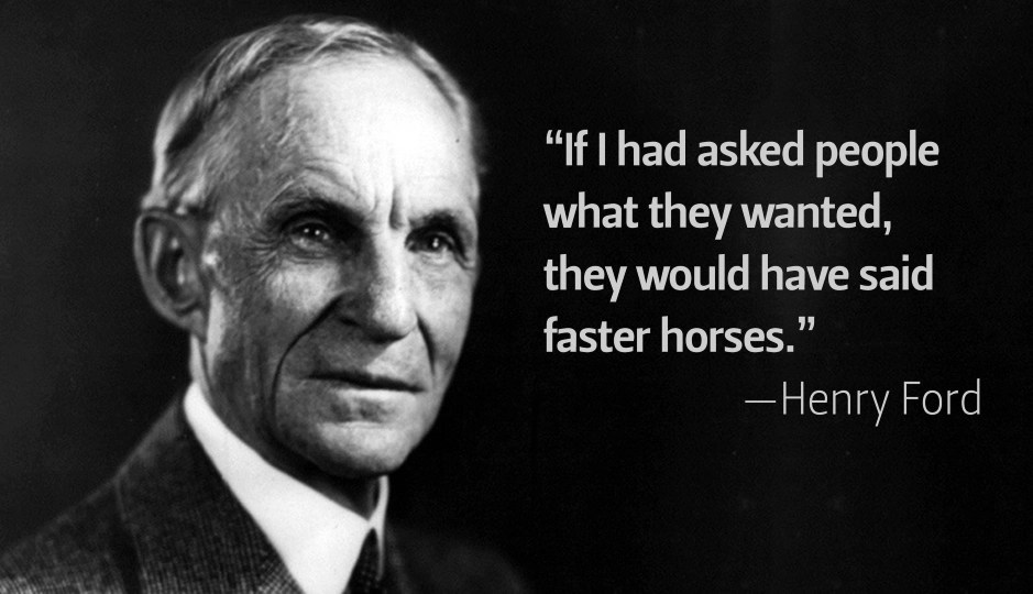 Henry Ford On Customer Demand - How To Future Proof Your Business