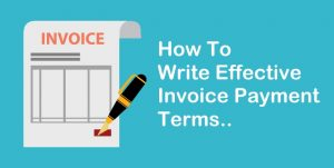 How To Write Invoice Payment Terms