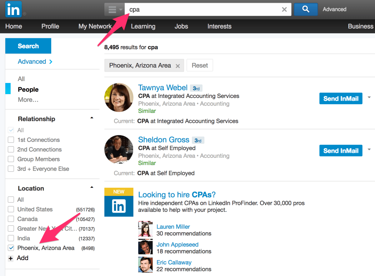Using LinkedIn For Business