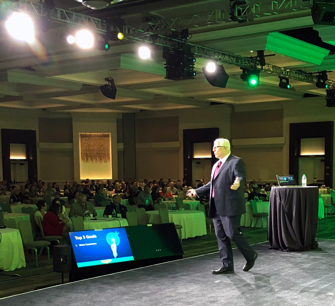 Ford Saeks Franchise Speaker On Stage