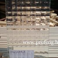 square üveg