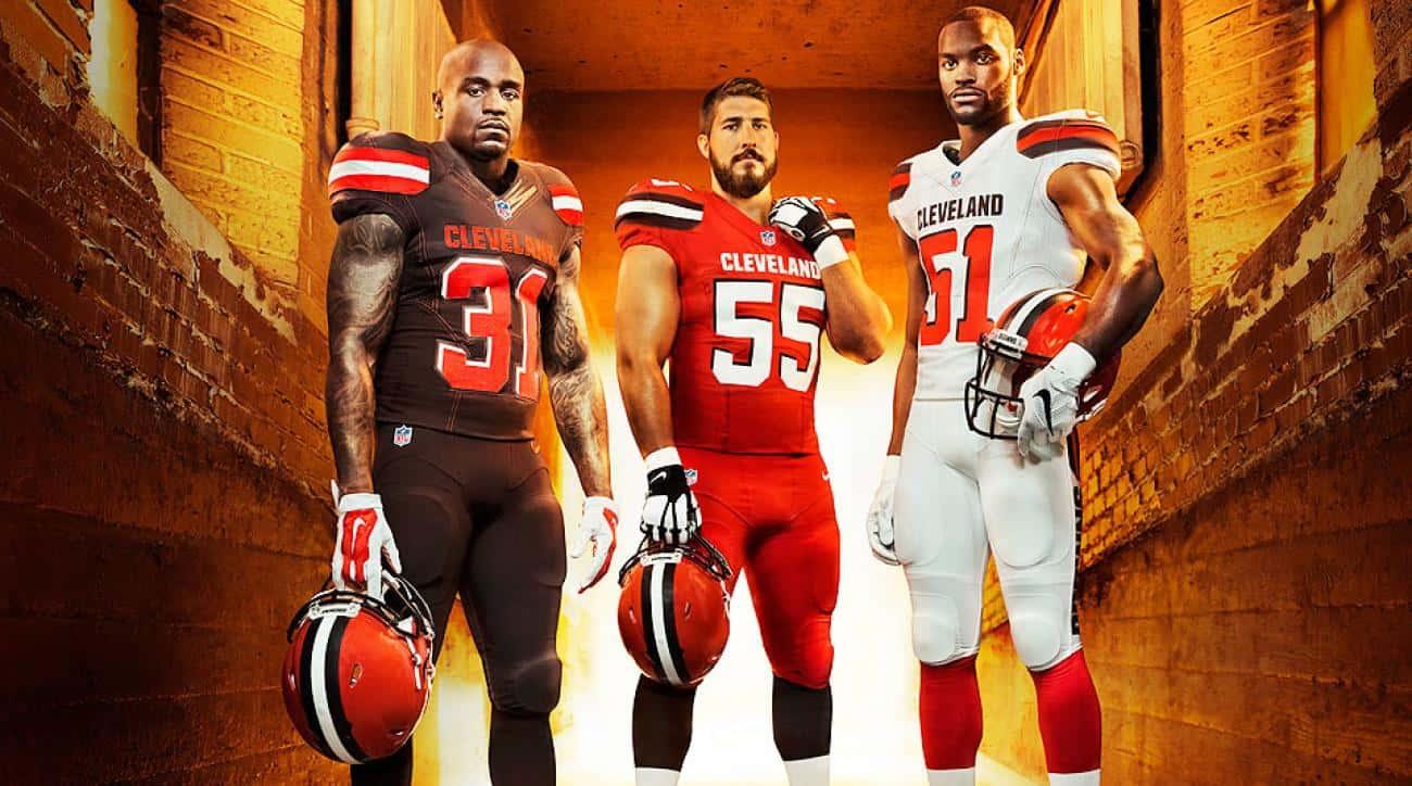 Cleveland Browns uniform reveal