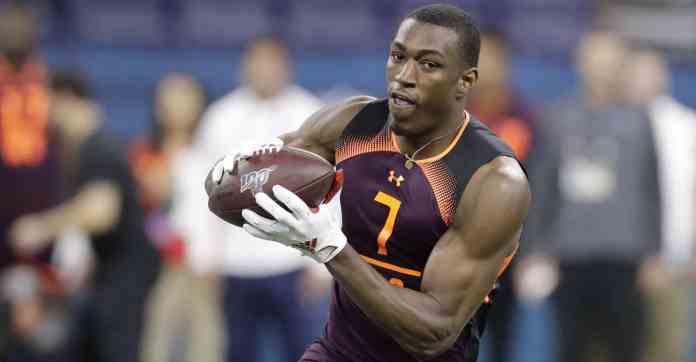 2019 NFL Draft Hakeem Butler