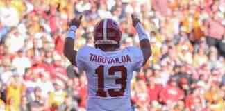 Tua Tagovailoa announces he will return to Alabama for his senior year
