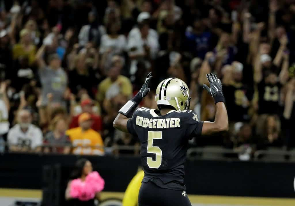 New Orleans Saints Teddy Bridgewater Vying To Be The Qb Of