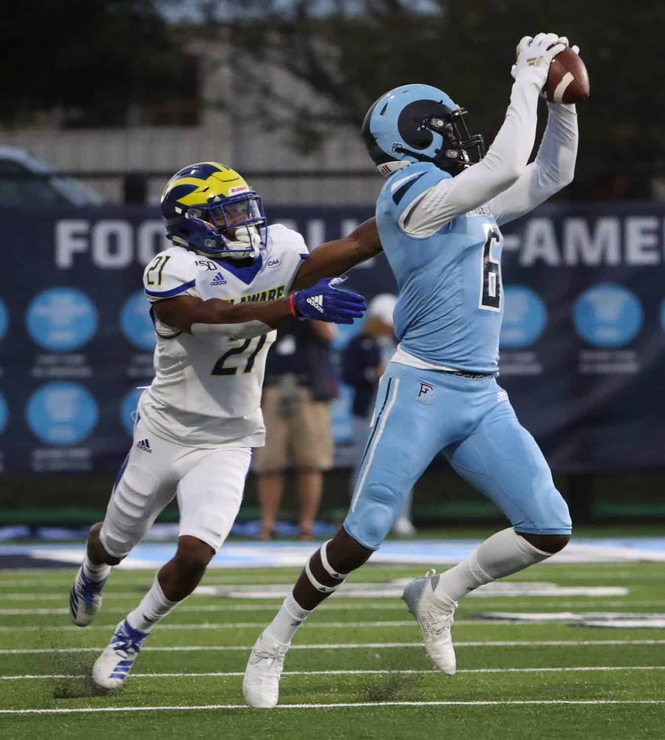 Best Nfl Teams 2020.2020 Nfl Draft Wide Receiver Aaron Parker Has The Goods Pfn