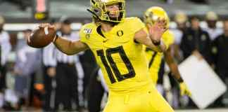 2020 nfl mock draft, Justin Herbert a target for the Los Angeles Chargers