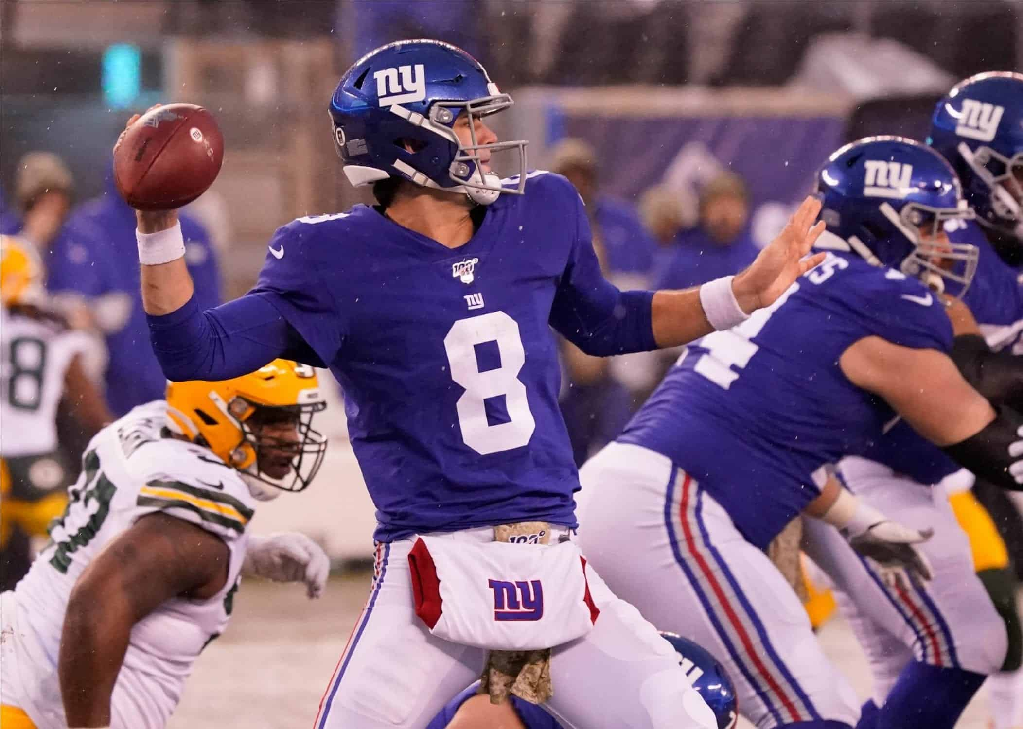 2020 NFL Draft: New York Giants pre-combine 7-round mock draftes vs. Broncos QB Drew Lock