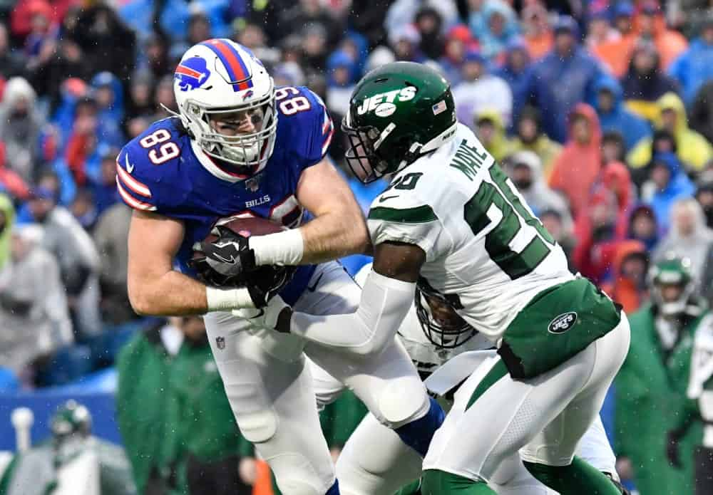 Tommy Sweeney ranks as top tight end after Week 17 show out