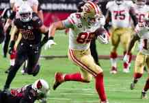 George Kittle and Travis Kelce on Super Bowl collision course