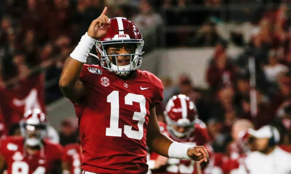 Alabama QB Tua Tagovailoa officially declares for the 2020 NFL Draft