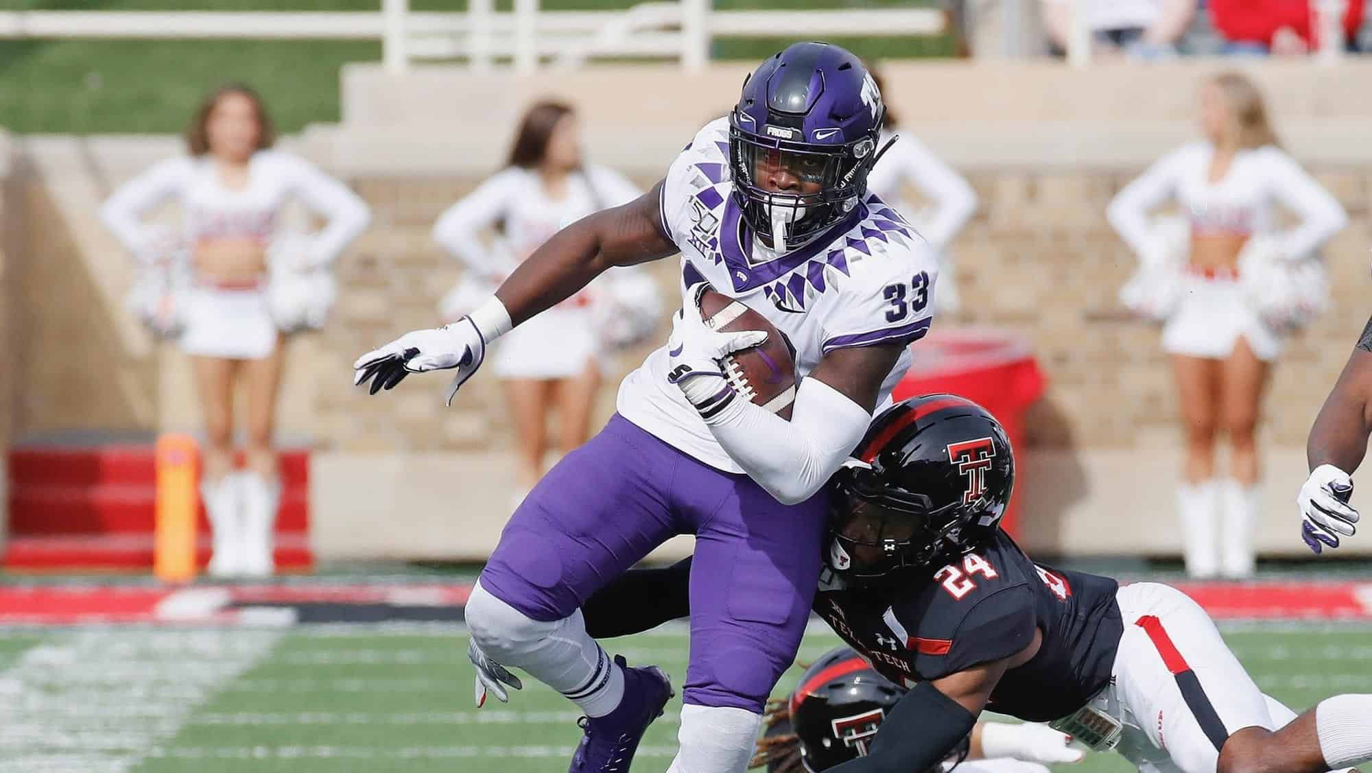 TCU RB Sewo Olonilua equipped to rise up draft boards in the 2020 NFL Draft