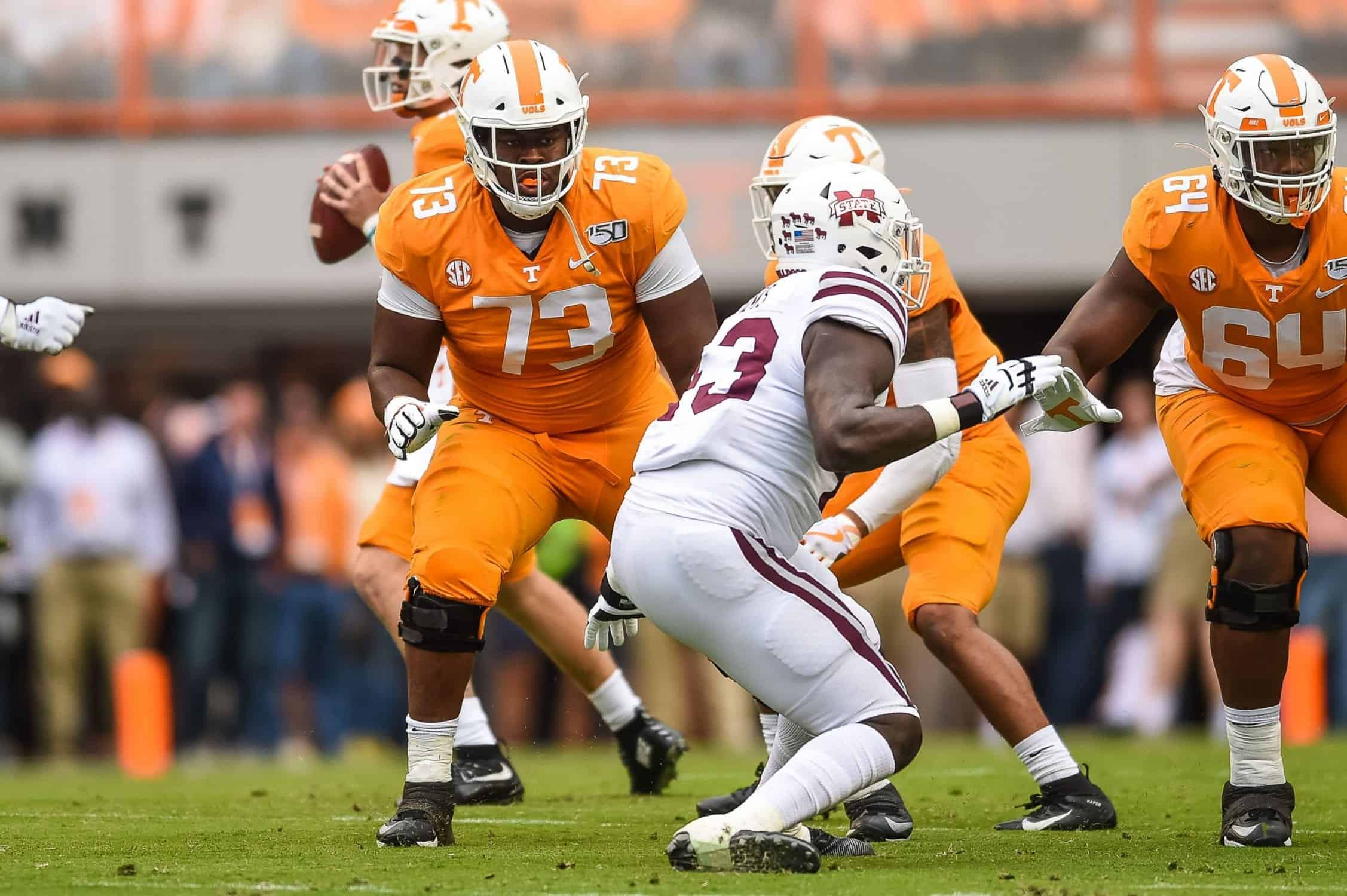 Top offensive lineman to know for the 2021 NFL Draft