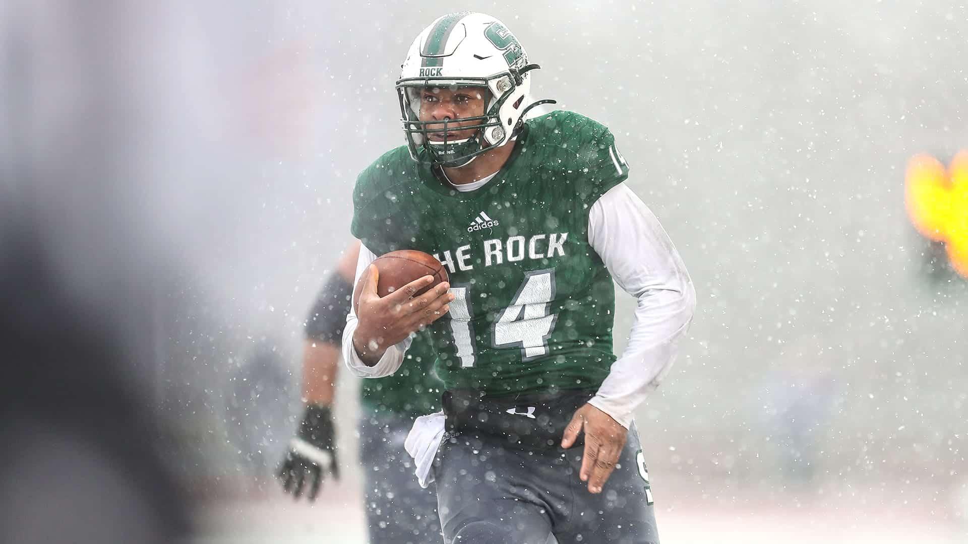 Slippery Rock quarterback Roland Rivers III no stranger to new beginnings