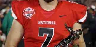 quarterback nick tiano