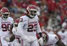 Oklahoma linebacker DaShaun White could be a massive riser