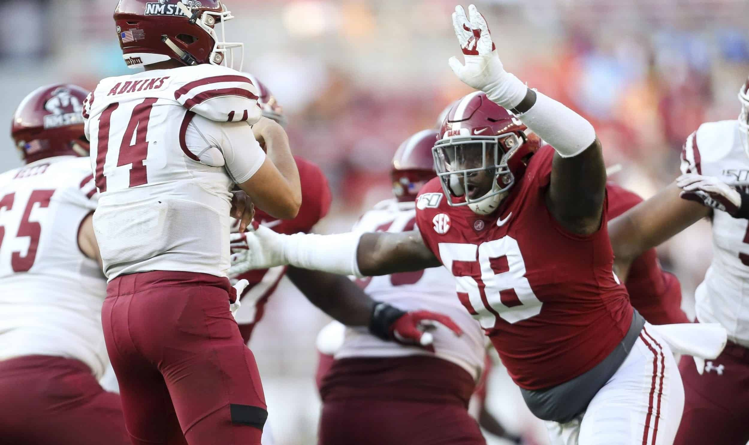 Marvin Wilson leads the 2021 DT class for now, but he has company
