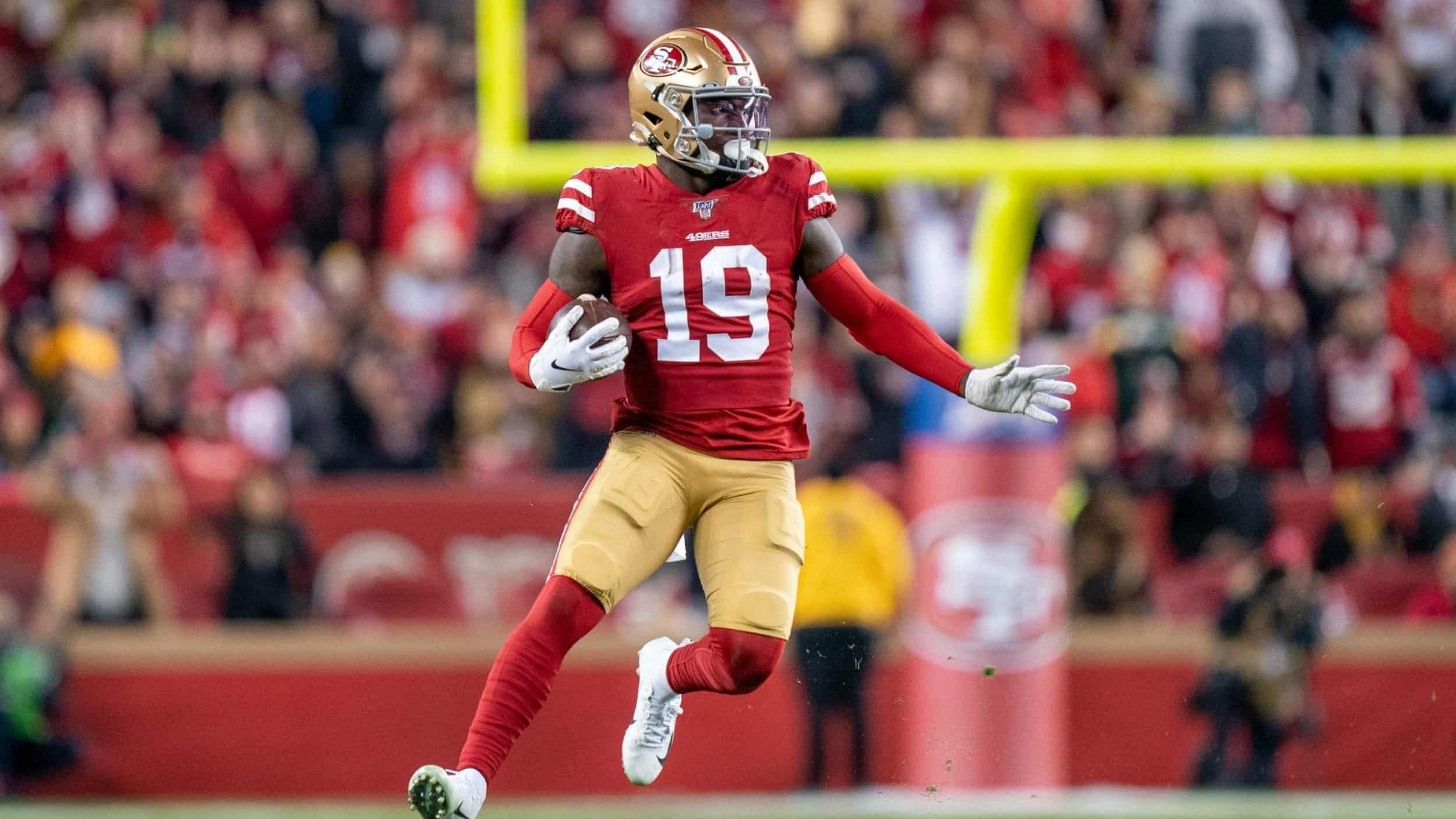 Losing Deebo Samuel in 2020 would be a devastating blow to the 49ers