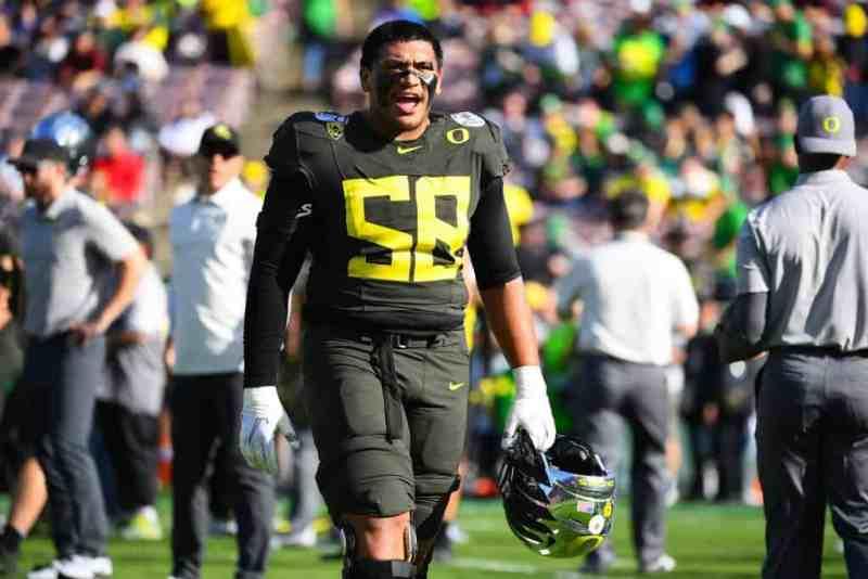 Penei Sewell, OT, Oregon - NFL Draft Player Profile | PFN