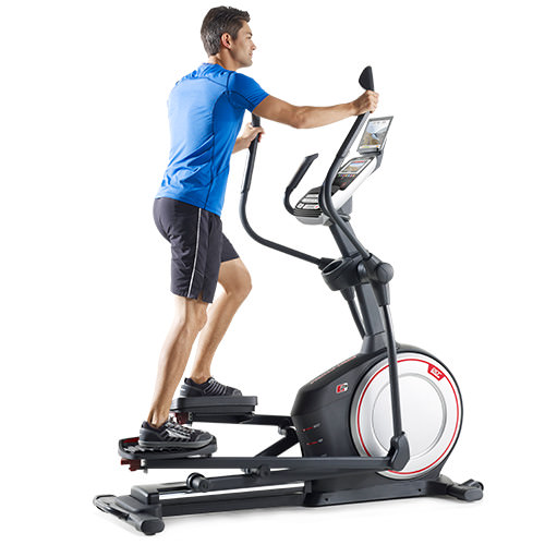 front drive elliptical machine benefits