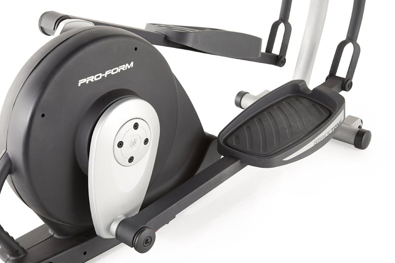 proform 600 le elliptical review - pedals