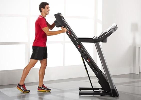 proform sport 7.5 Treadmill folding