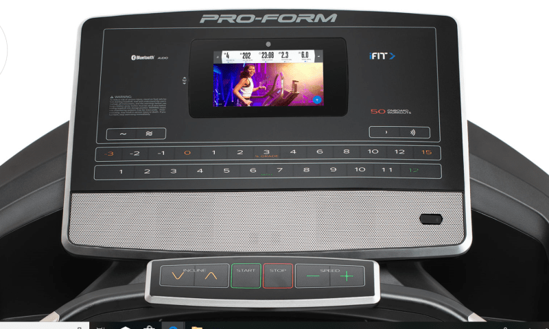 Proform 2000 vs 5000 treadmill