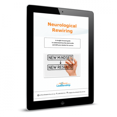 Neurological Rewiring Cover image - Leadership Skills - Professional Development - NLP - Communication Model