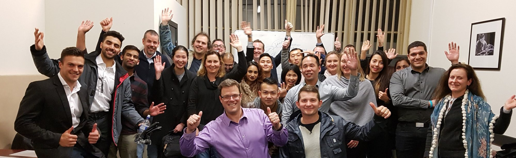 MeetUp Melbourne - Group Photo_June 18 - Leadership Skills - Small Business - Entrepreneurs