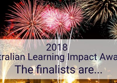 2018 Australian Learning Impact Awards