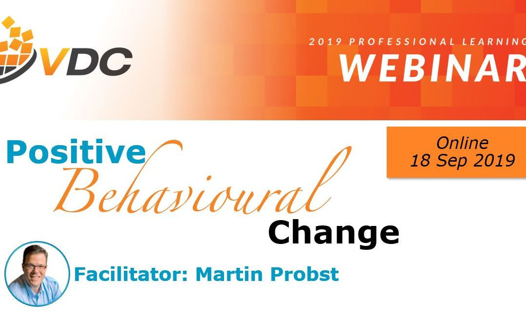 Positive behavioural change | Webinar (VDC)