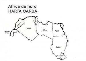 Harta muta Africa de Nord
