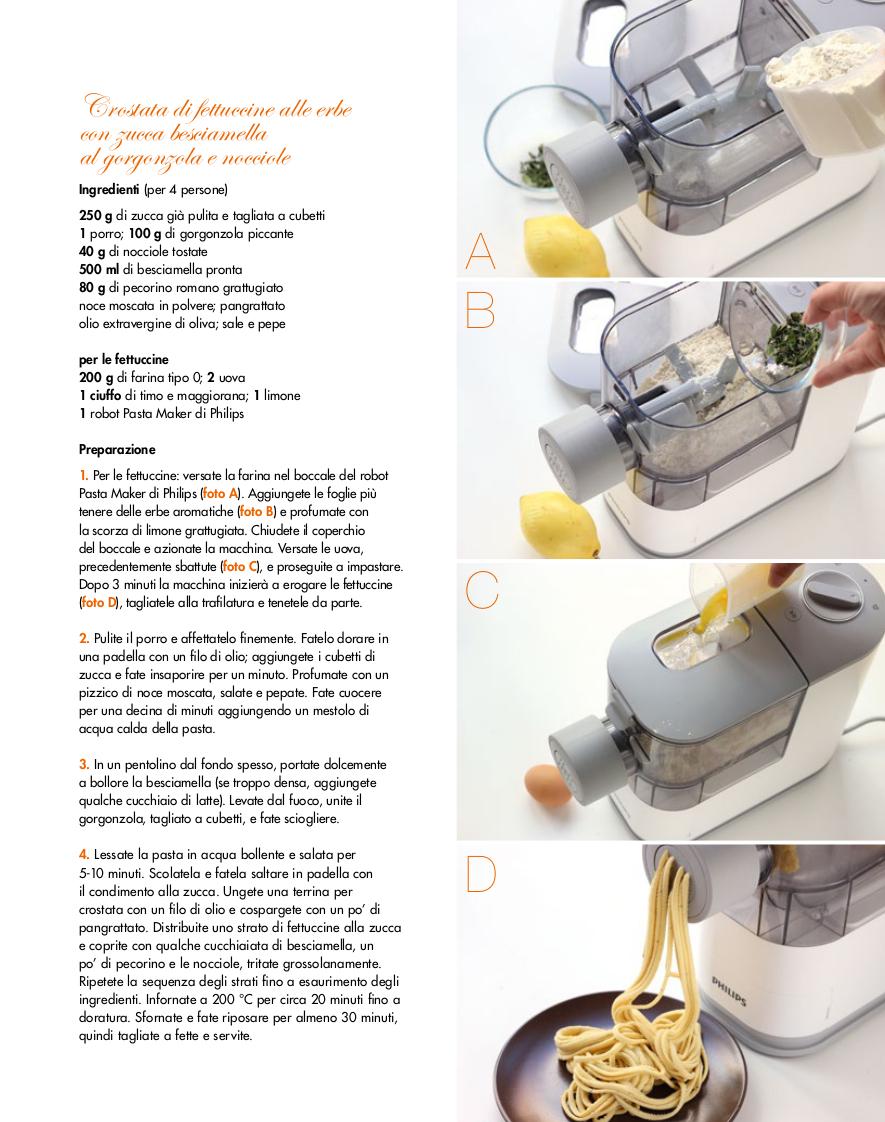 Placement Philips macchina pasta