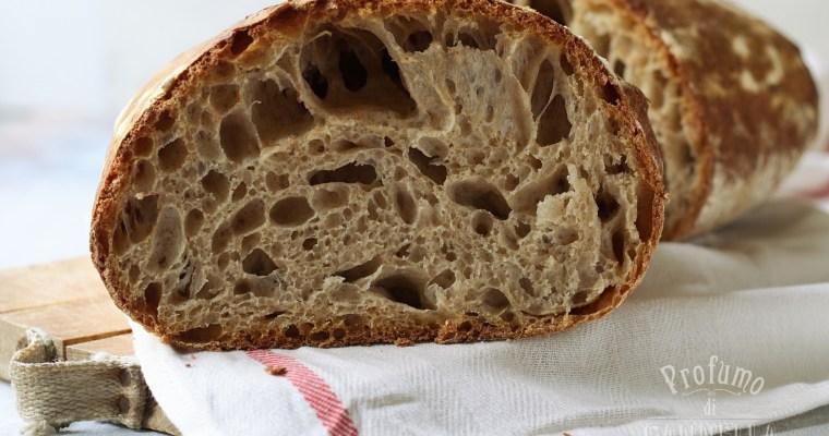 Pane semi-integrale con farina tipo 2