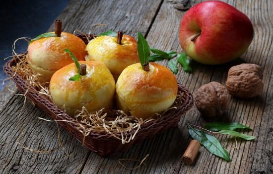 Brioche alle mele – a forma di mela