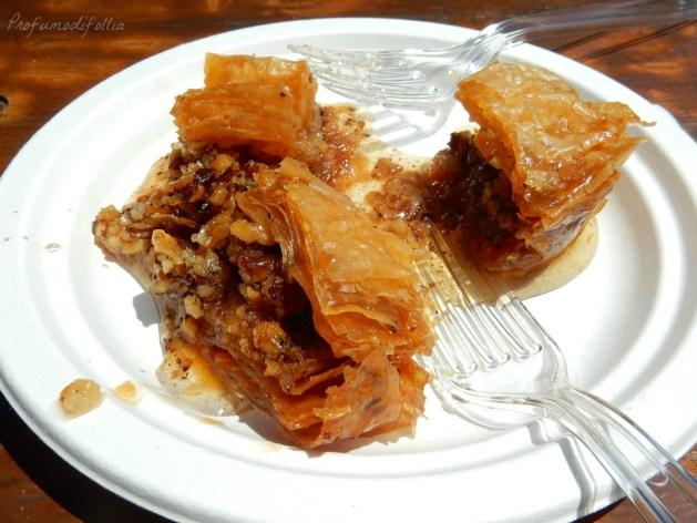 cibo di strada europeo baklava