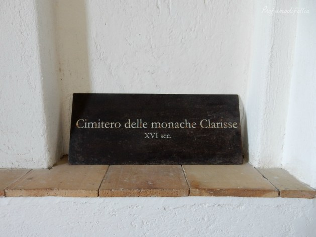 castello aragonese ischia cimitero delle monache clarisse