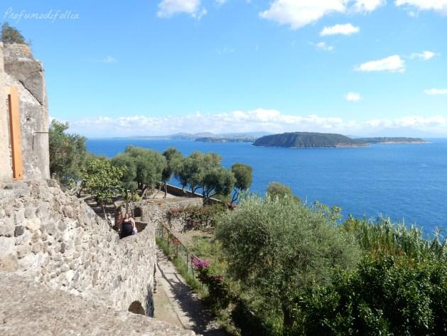 castello aragonese ischia vista panoramica