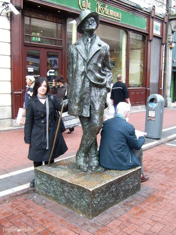 Io, James Joyce e un vecchietto photobomber a Dublino