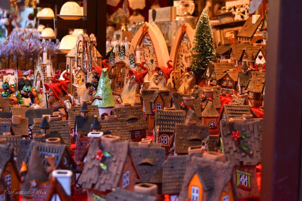 Casette dei mercatini di Natale di Verona