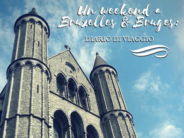 Diario di viaggio: Bruxelles e Bruges