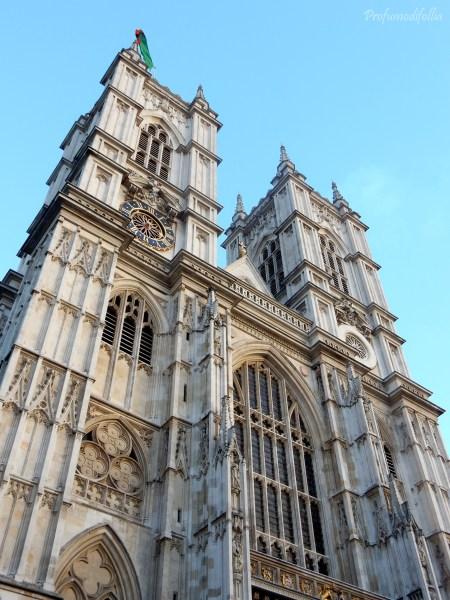Westminster Abbey diario di viaggio Londra