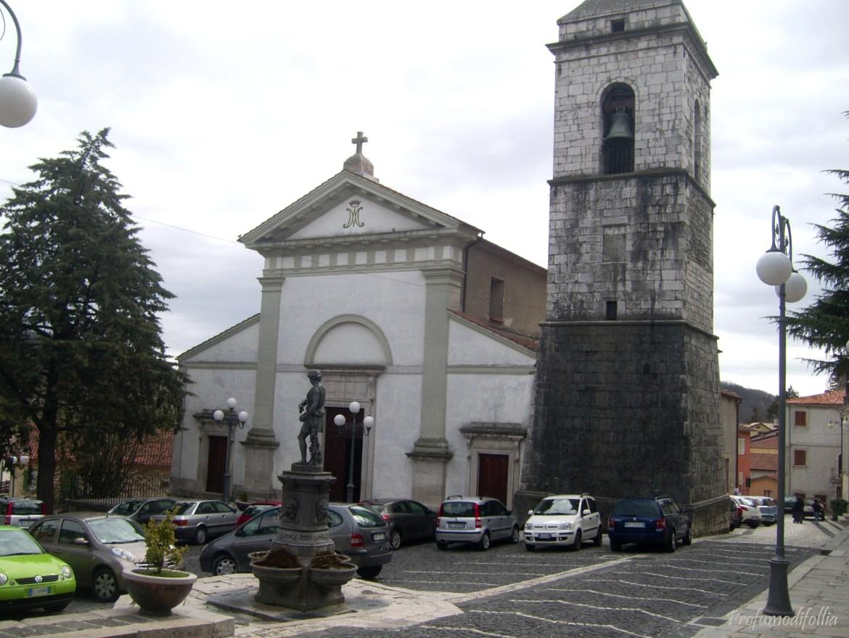 chiesa piazza di carovilli