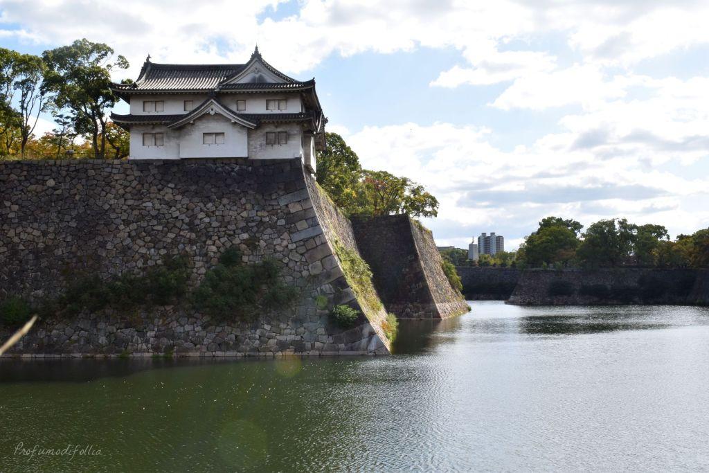 Vista sul parco del Castello di Osaka e sul lago [Una settimana in Giappone: Osaka]