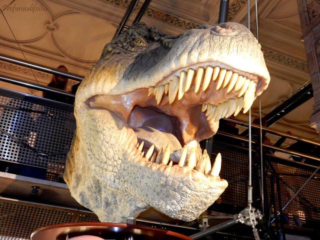 Tirannosauro natural history museum londra