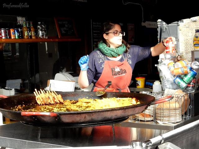 banchetto della paella Camden Town