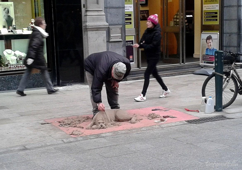 Artista a Grafton Street